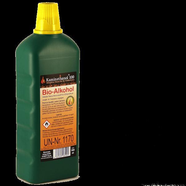 24 Liter Bioethanol 100%, 24 Flaschen mit Kindersicherung