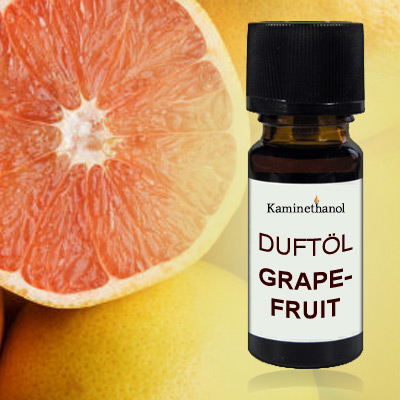 Duftöl Grapefruit, 10 ml Tropfflasche