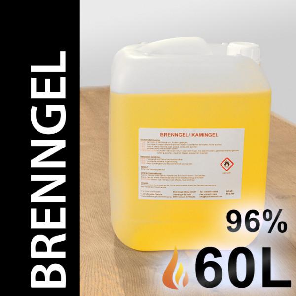 60 Liter Brenngel, 6 Kanister