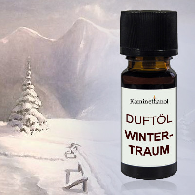 Duftöl Wintertraum, 10 ml Tropfflasche