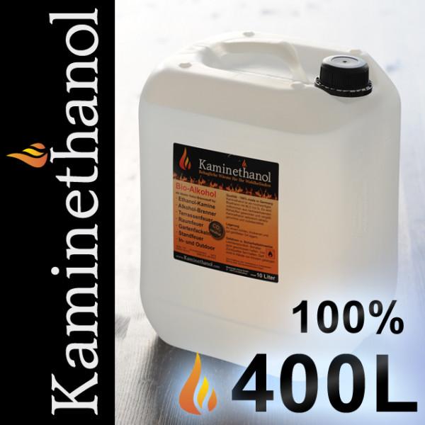 400 Liter Bioethanol 100%, 40 Kanister