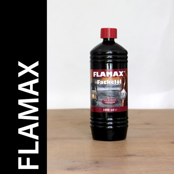 96 Liter Flamax Fackelöl, 96 PET- Flaschen