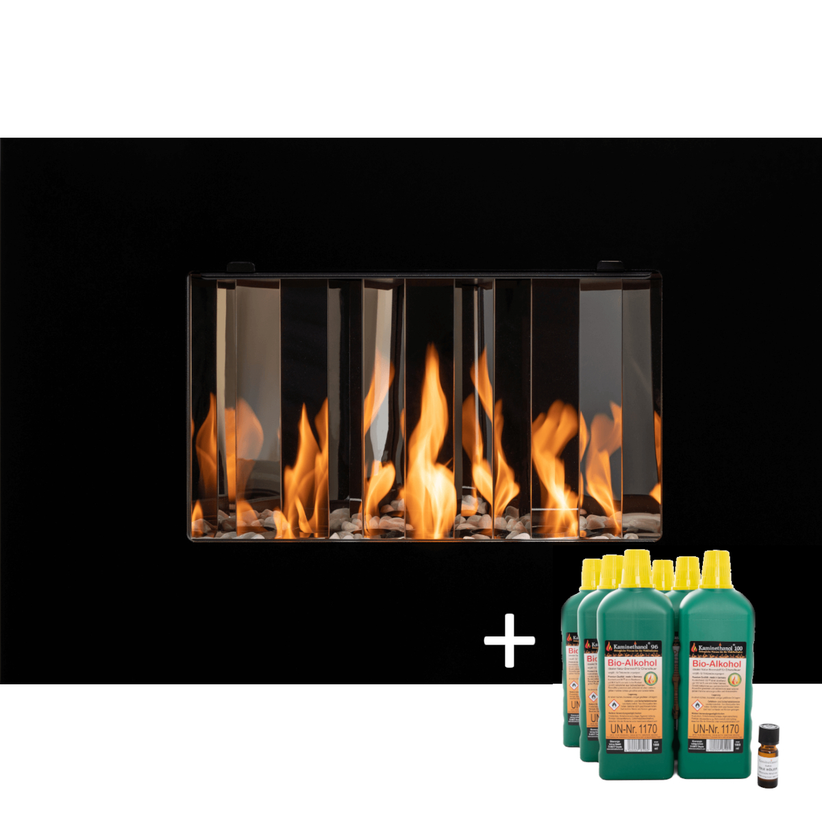 Bioethanol-Kamin Hot-Romantica Starterset