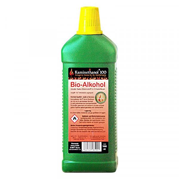 Entscheidungshilfe 12 Liter Bioethanol 96.6% & 100%, 12 Flaschen mit Kindersicherung