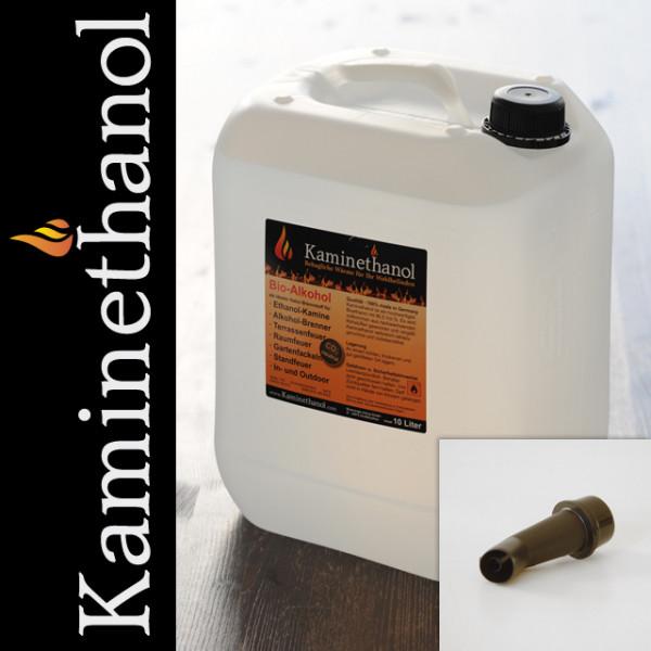 30 Liter Bioethanol 96,6%, 3 Kanister