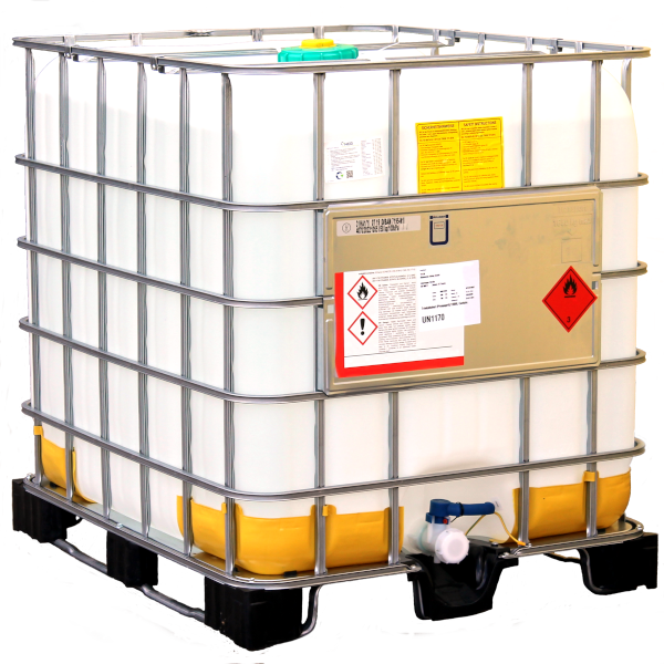 1000 Liter Bioethanol 100% MEK 1%, IPA 1%, Bitrex 1g, 1 Container