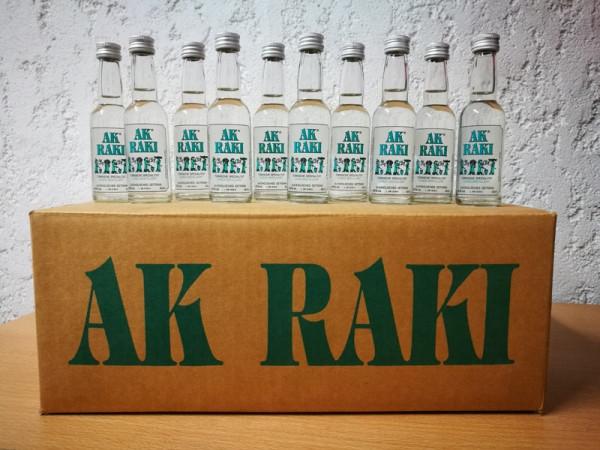 100 x 40 ml AK® RAKI Türkische Spezialität