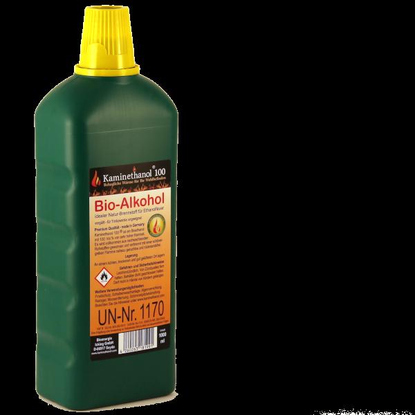34 Liter Bioethanol 100%, 34 Flaschen mit Kindersicherung