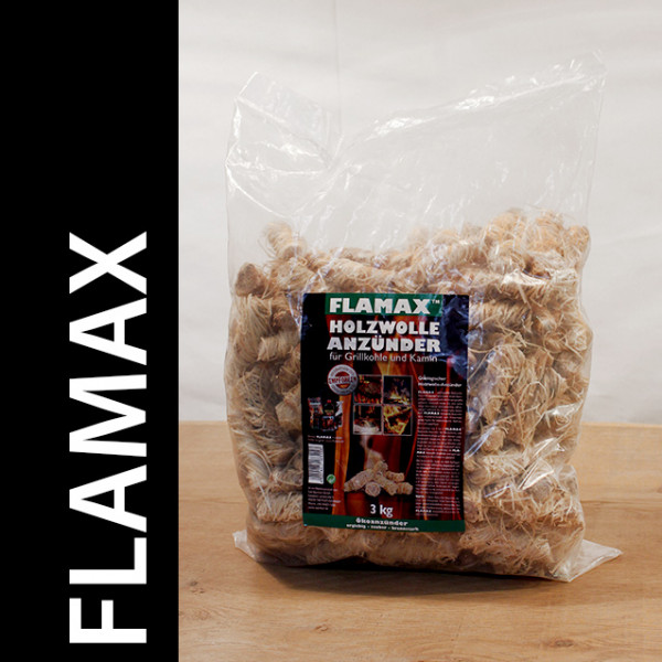 Flamax Holzwolleanzünder 2 x 3 Kg