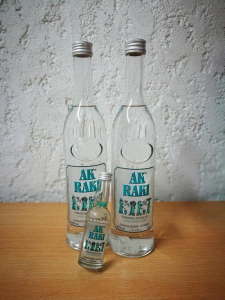 2 x 0,5 L AK® RAKI Türkische Spezialität (inkl. Ak® Raki 4cl)