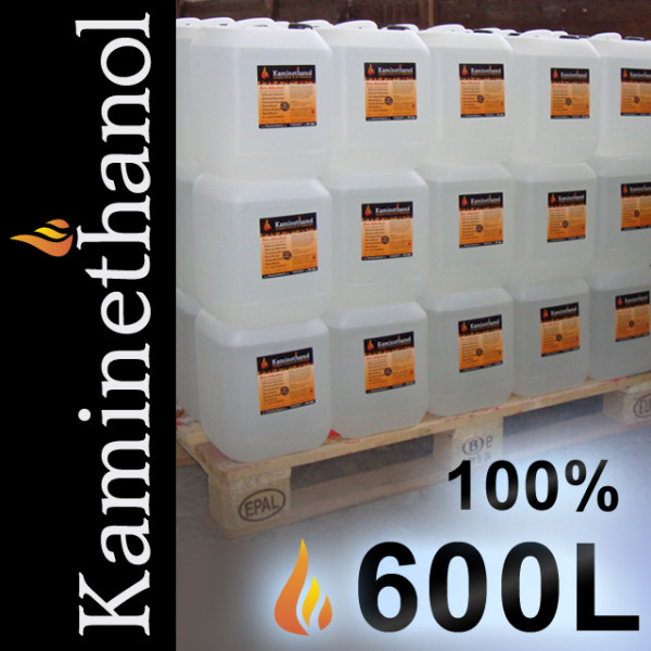 600 Liter Bioethanol 100%, 60 Kanister