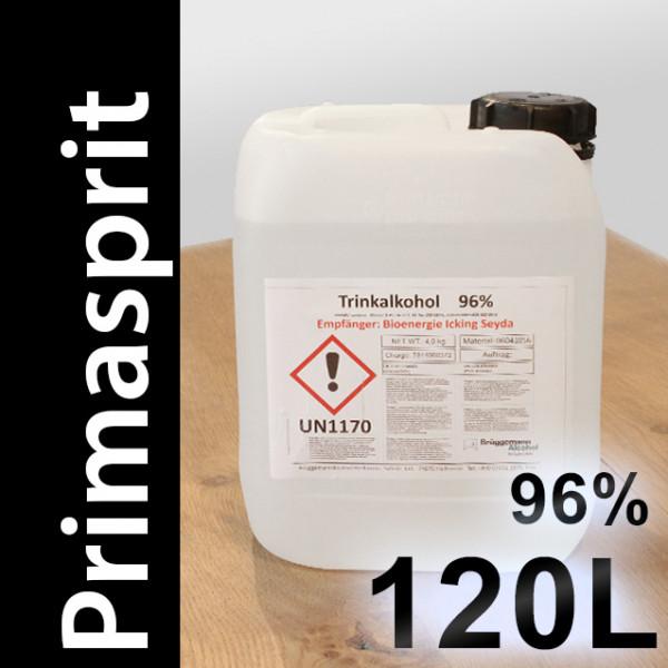 120 L Primasprit 96% Neutralalkohol, 24 Kanister