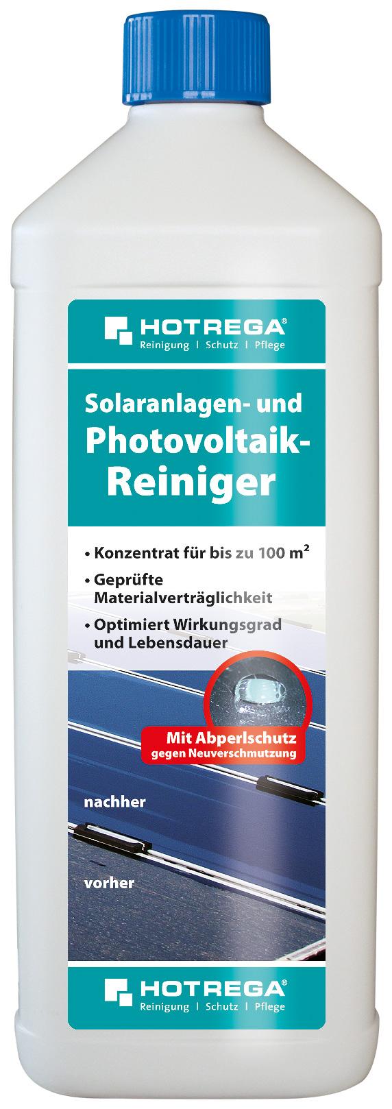 Photovoltaikanlagen Reiniger in 1 Liter Flasche (Konzentrat)