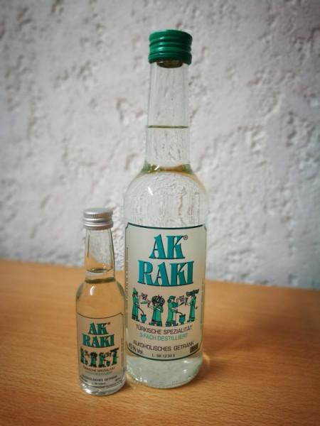 AK® RAKI Türkische Spezialität 350 ml (inkl. Ak® Raki 4cl)