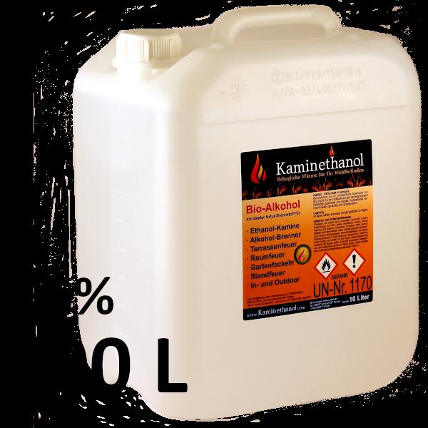 400 Liter Bioethanol 96,6%, 40 Kanister