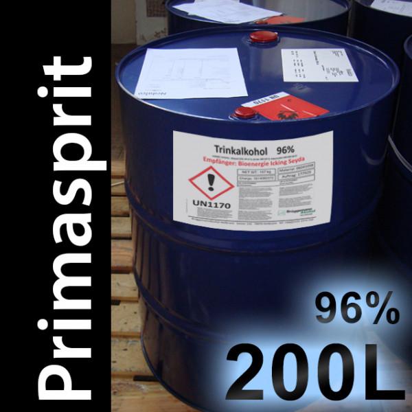200 L Fass Trinkalkohol 96,3% Neutralalkohol, 1 Einweg-Fass