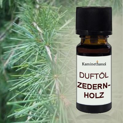 Duftöl Zedernholz, 10 ml Tropfflasche