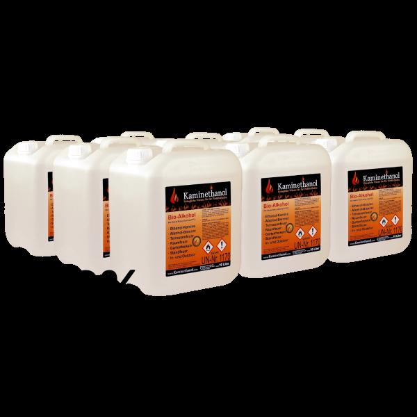 90 Liter Bioethanol 100%, 9 Kanister