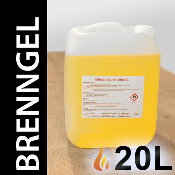 20 Liter Brenngel, 2 Kanister