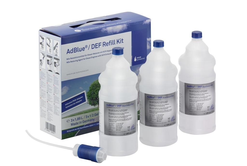 Kruse AdBlue® Refill Kit DSD