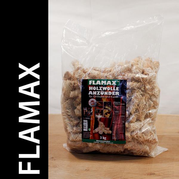 Flamax Holzwolleanzünder 1 x 3 Kg