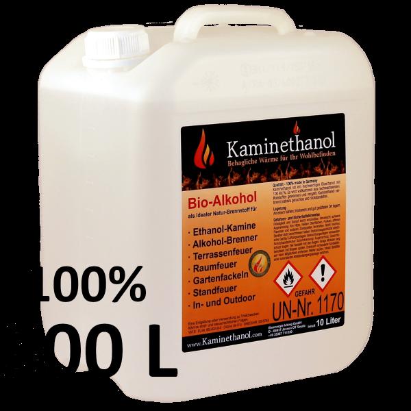 300 Liter Bioethanol 100%, 30 Kanister