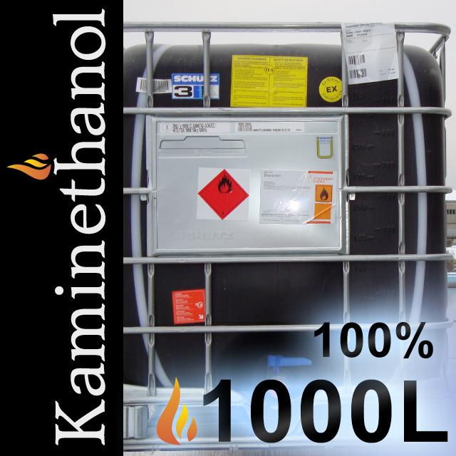 Bevorzugt 1000 Liter Bioethanol 100% MEK 1%, IPA 1%, Bitrex 1g, 1 Container DZ59