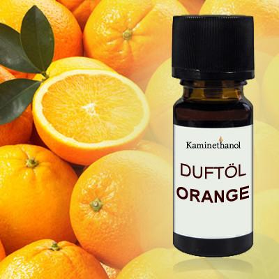 Duftöl Orange, 10 ml Tropfflasche